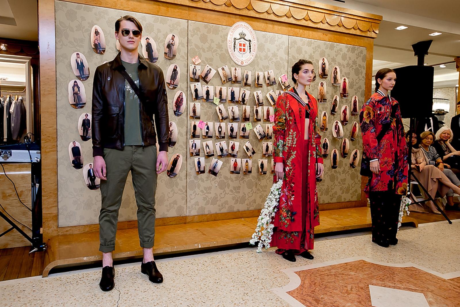 b0d2141b37c В Петербурге прошел показ в бутике BoscoFamily