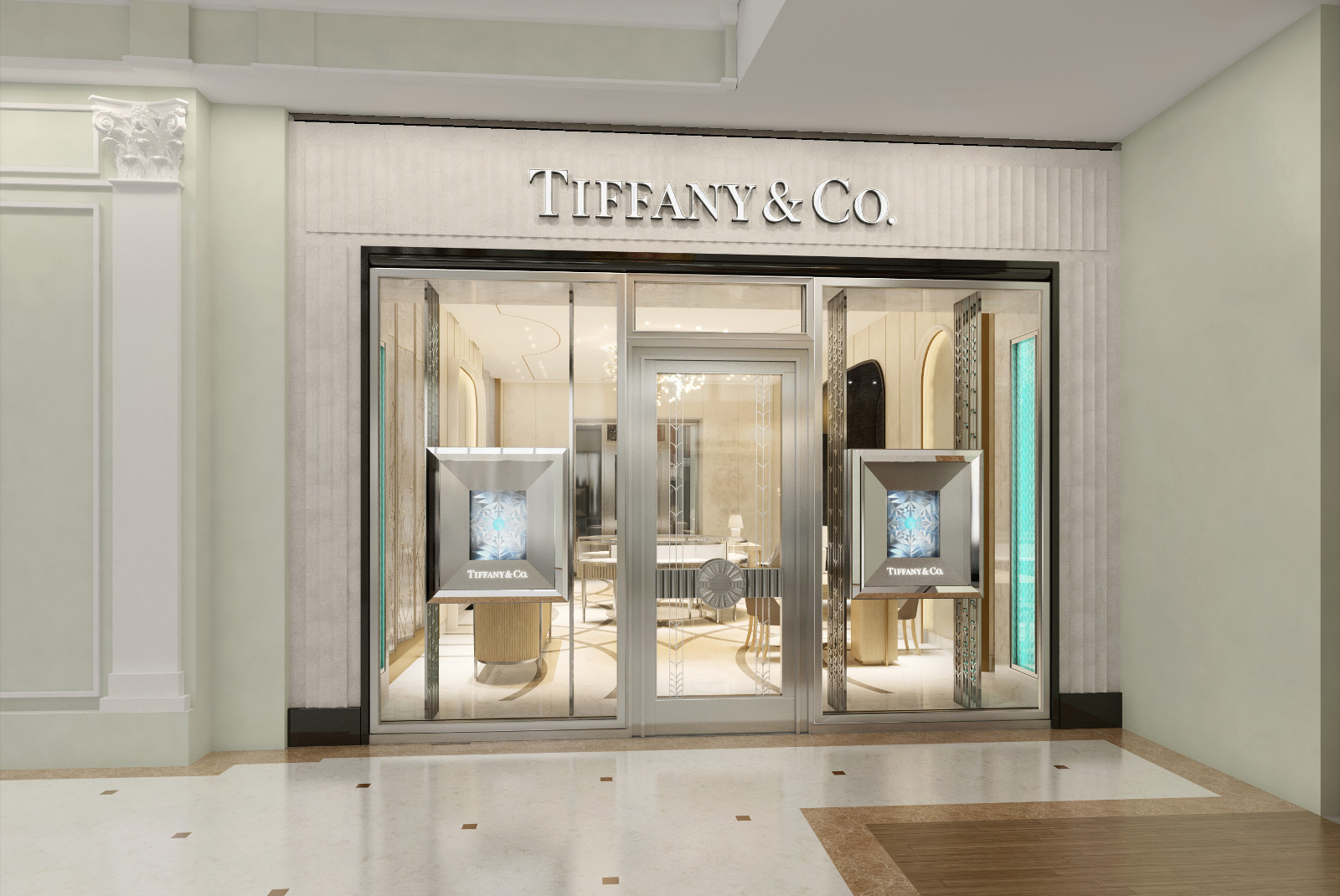 В Петровском Пассаже открылся бутик Tiffany   Co. 4676b6fca14