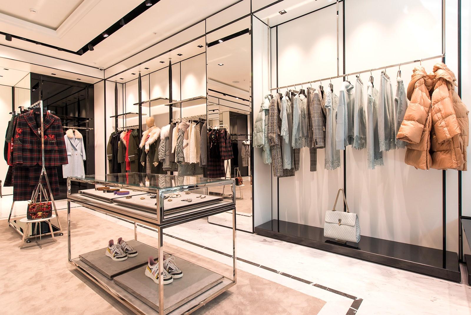 f344310e03b2e Opening of the new Ermanno Scervino store in Crocus City Mall