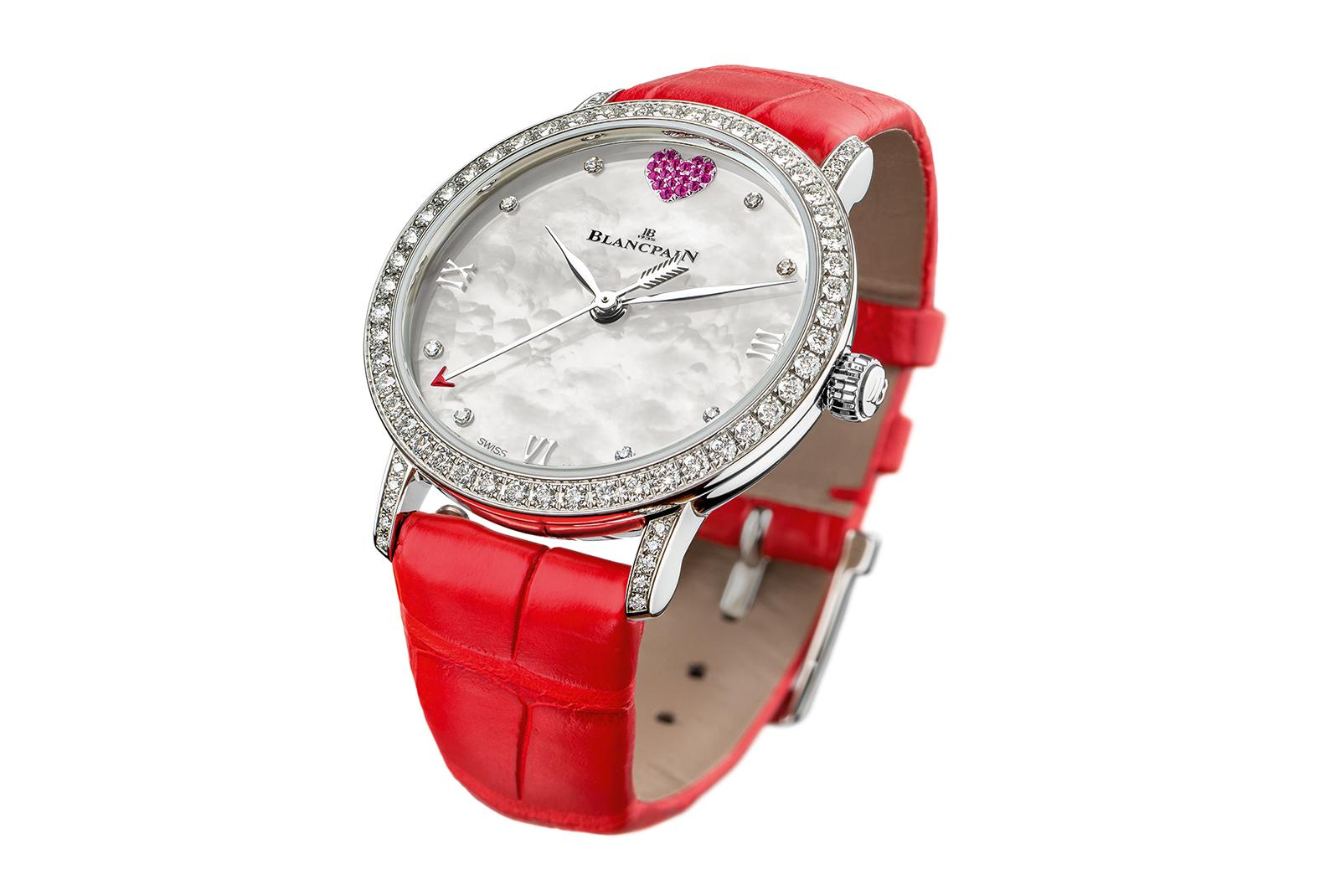 5256906d Новая модель часов от Blancpain: влюбленные часов не наблюдают