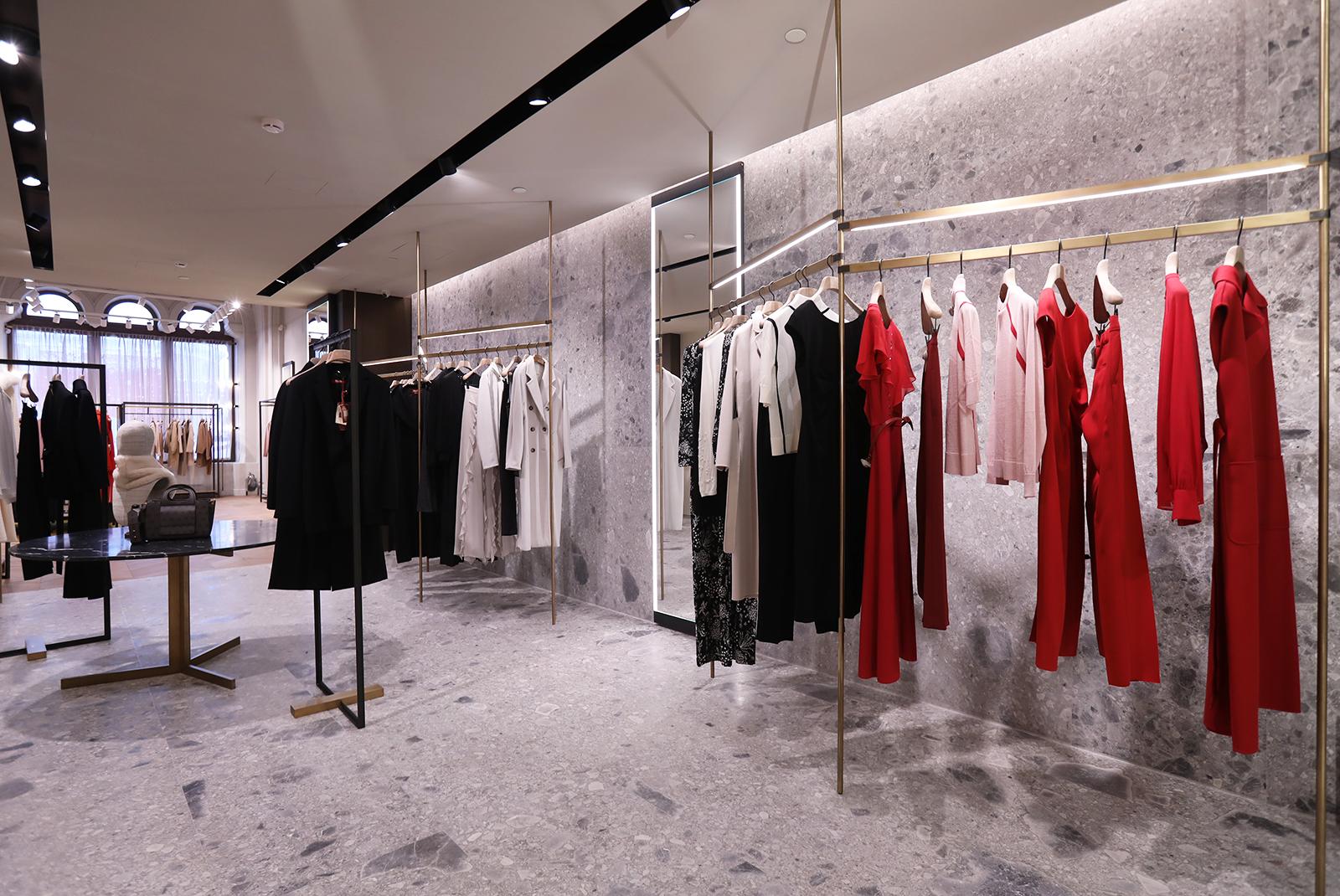 0ea7d1a7f Новый двухэтажный магазин Max Mara в ГУМе