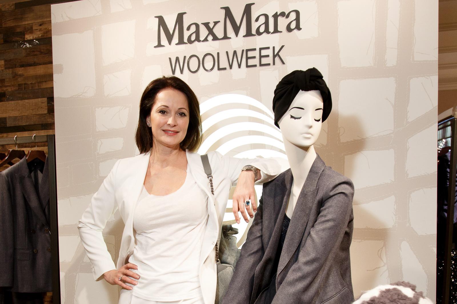 55a689f4b202 Презентация капсульной коллекции Max Mara Wool Denim