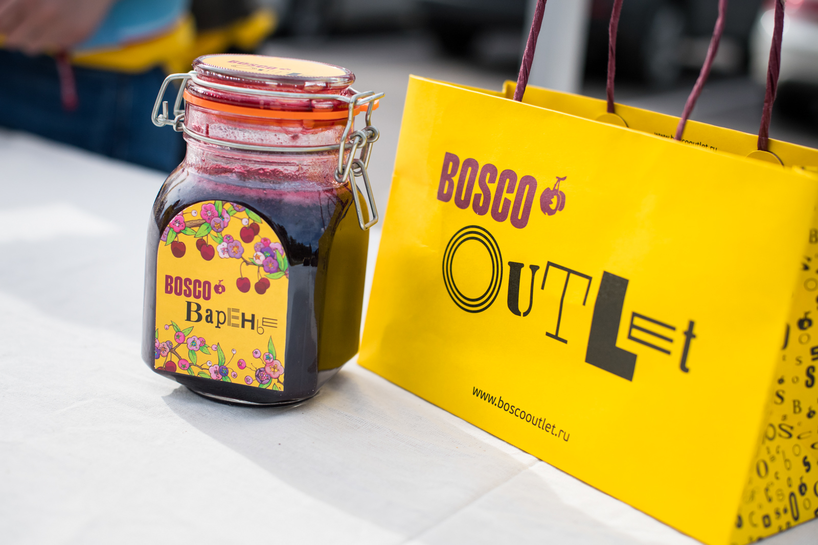 День варенья BOSCO Outlet во Vnukovo Outlet Village