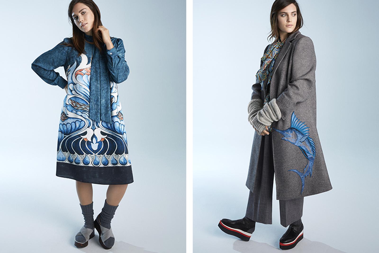 56c9658b87d3a Новая эклектичная коллекция Marina Rinaldi и Stella Jean  с миру по нитке