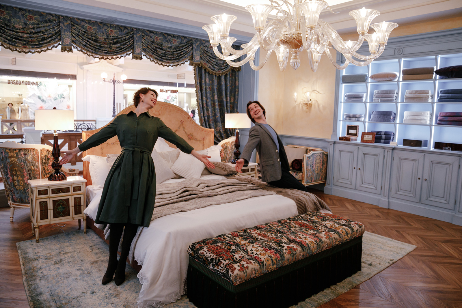 Преображаем Спальню Танцовщицы