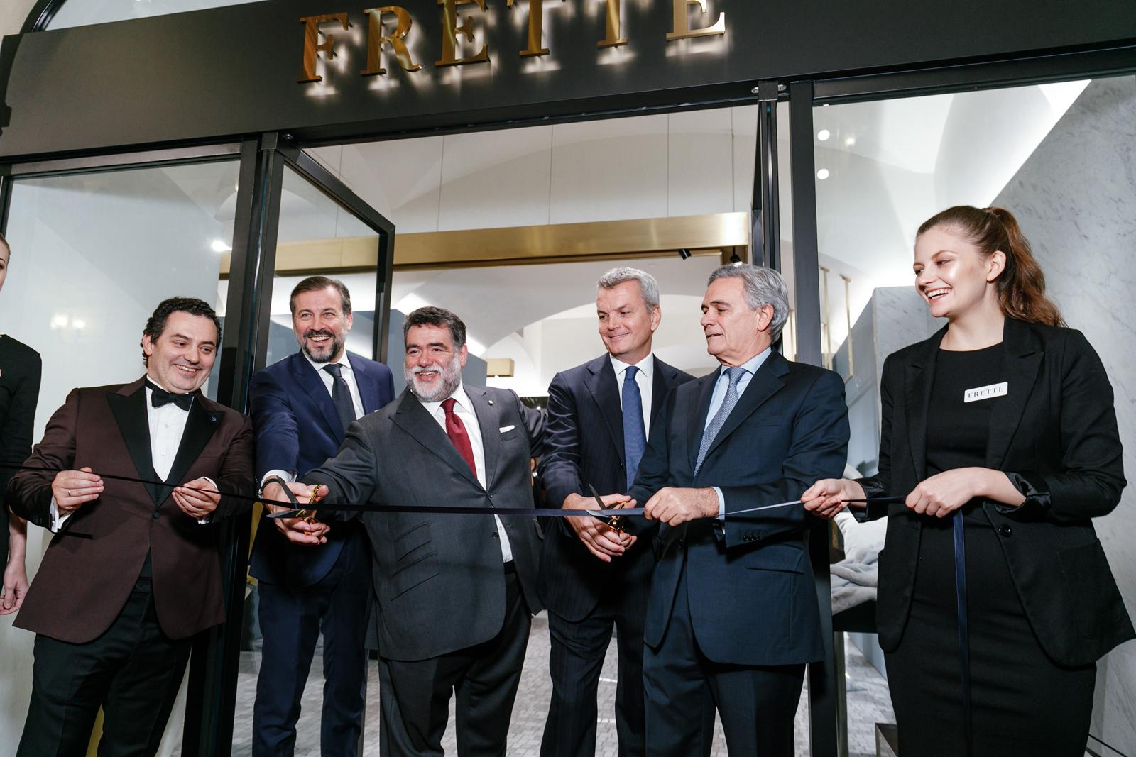 В ГУМе торжественно открылся магазин Frette 82c30bab2c5