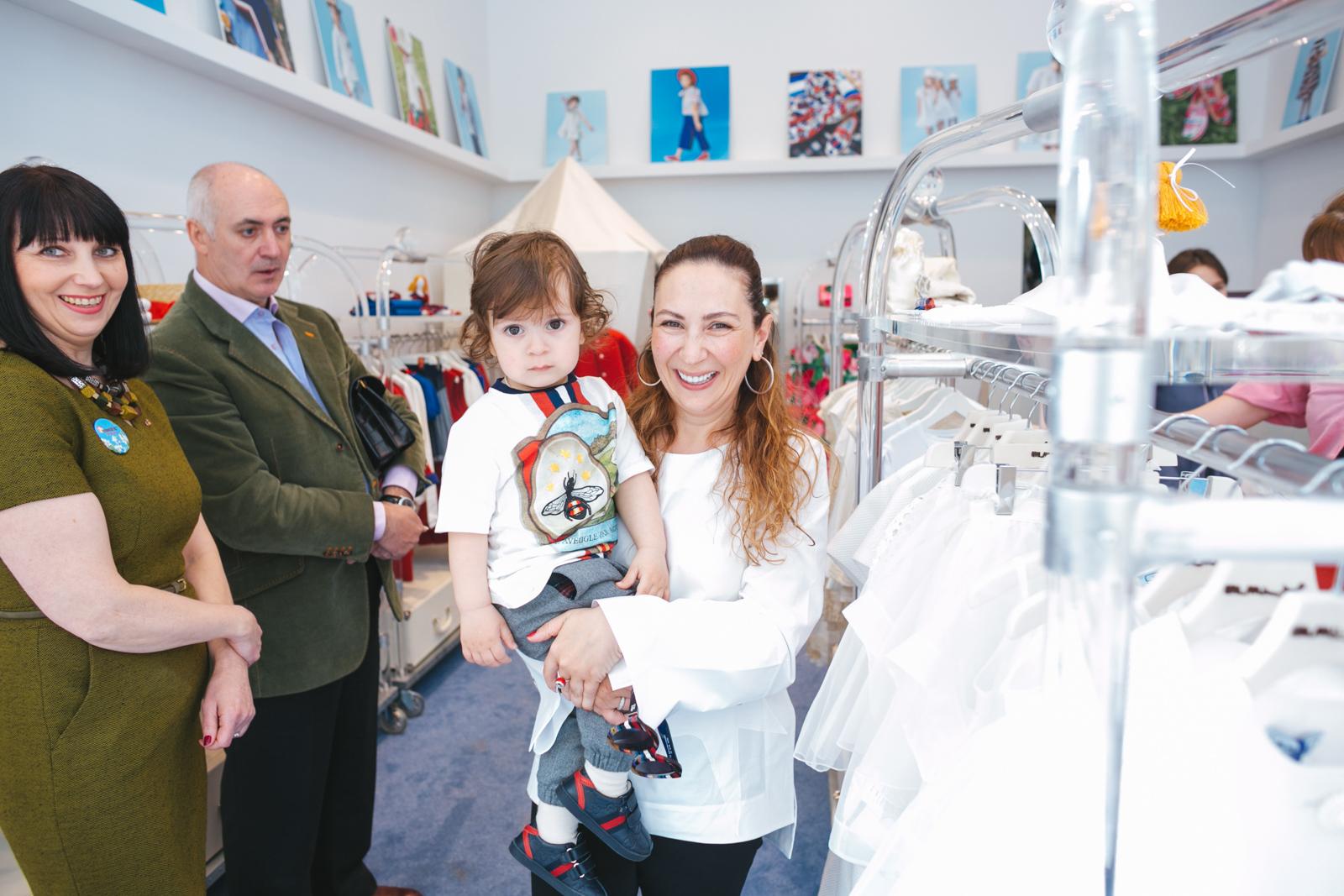 Торжественное открытие бутика и выставки детской одежды Mi.Mi.Sol 6f12edf8ab1
